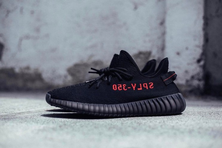 """YEEZY BOOST 350 V2 """"Black/Red"""" May See a February Release"""