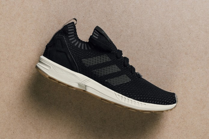 adidas Originals Drops the ZX Flux Primeknit in Core Black