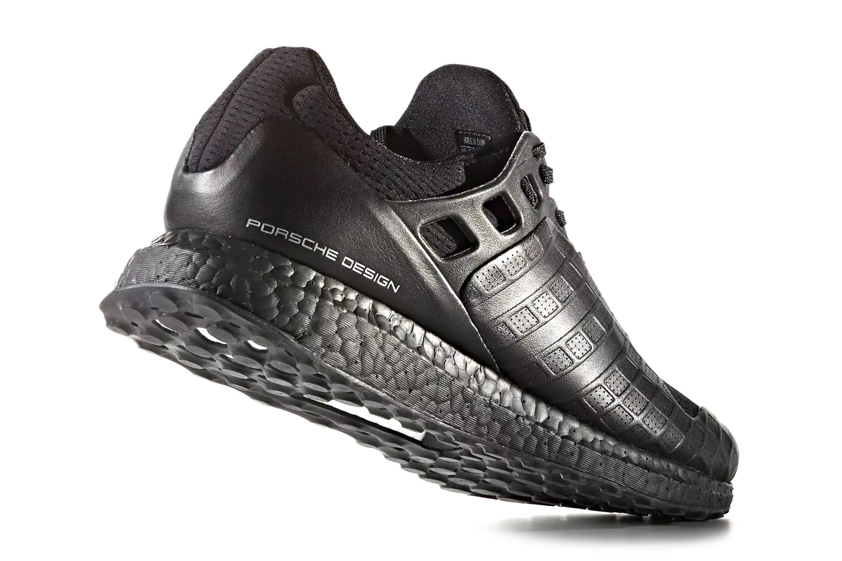 porsche design x adidas ultraboost triple black hypebeast. Black Bedroom Furniture Sets. Home Design Ideas