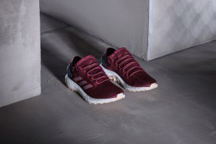 adidas Welcomes a Burgundy Colorway to Its Upcoming PureBOOST 2.0 Family