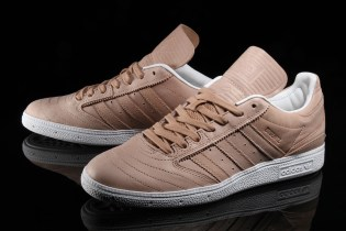 adidas Dresses Dennis Busenitz's Signature Kicks in Premium Tan Leather