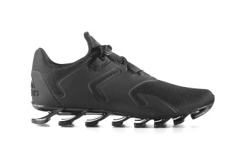 """adidas Unveils New Springblade Solyce In """"Triple Black"""""""