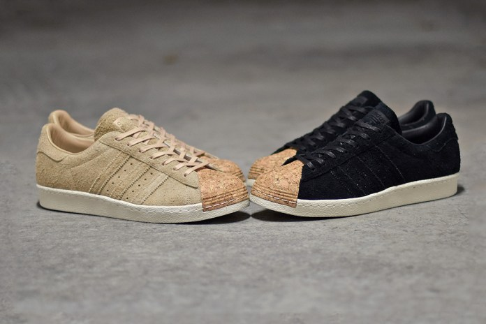 adidas Originals Brings Cork Accents to the Superstar 80s