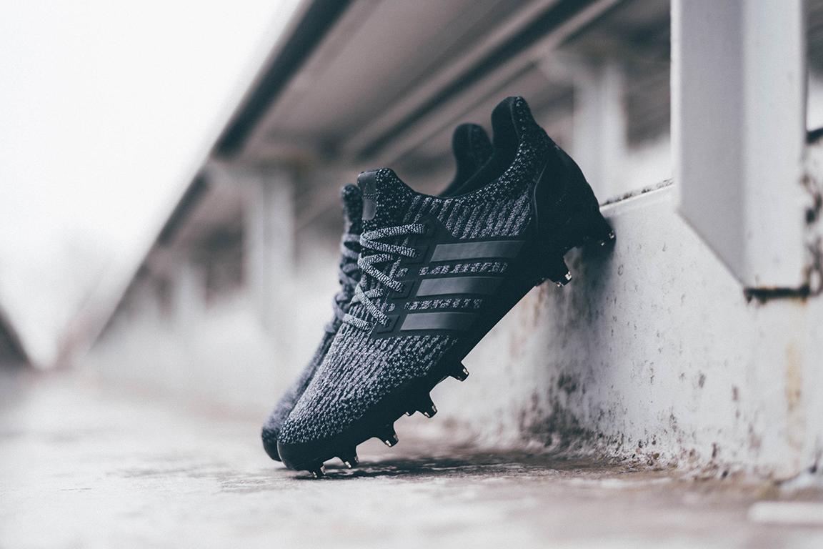 adidas Triple Black UltraBOOST Cleat