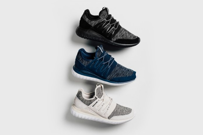 "adidas Releases a Tubular Radial ""Mélange Knit"" Pack"