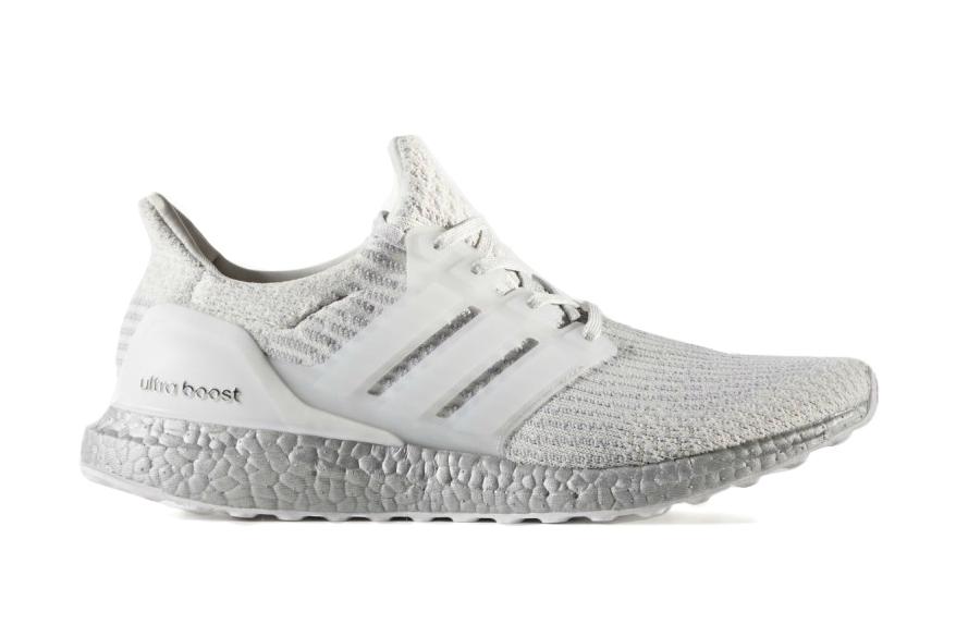 adidas ultra boost white sneaker silver sole - 1835982