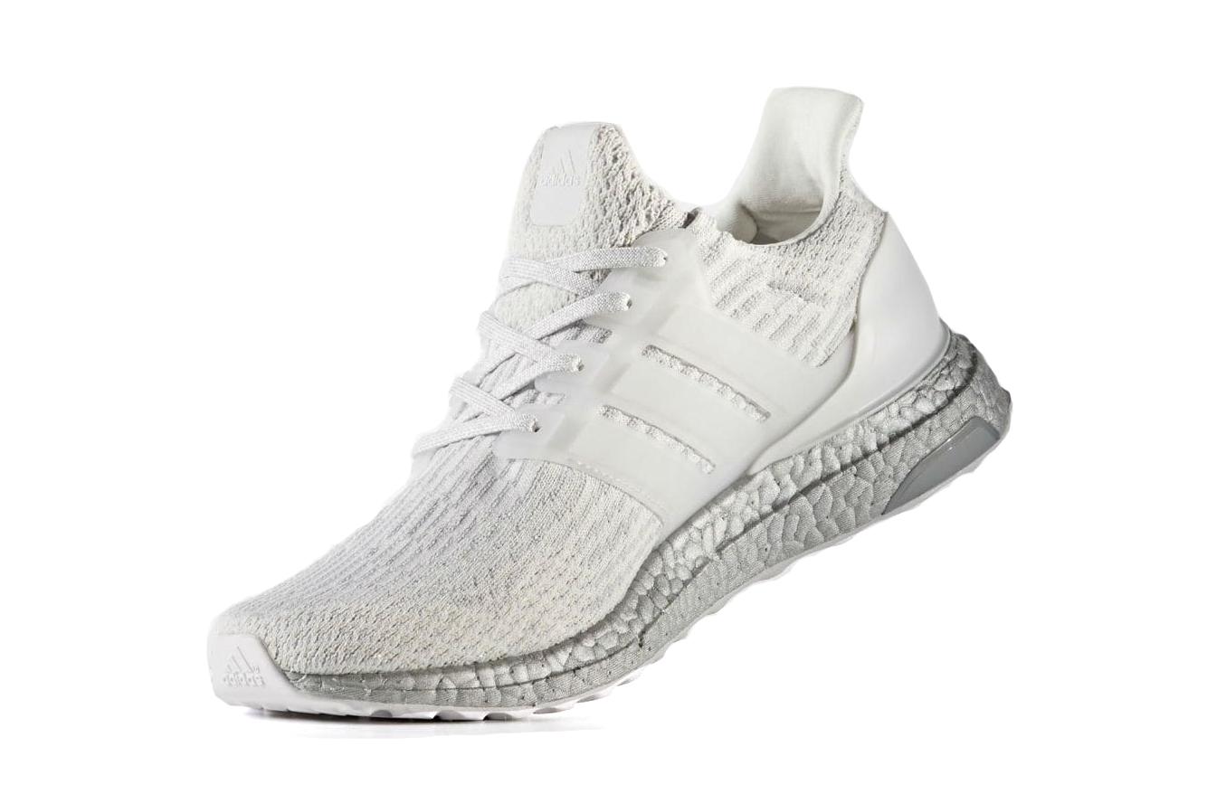 adidas ultra boost white sneaker silver sole - 1835981