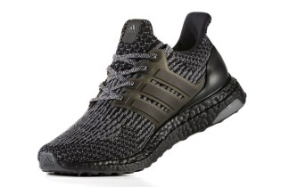 adidas Reveals a Slick Black and Silver UltraBOOST 3.0
