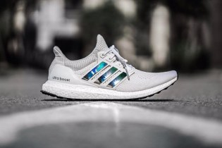 The Latest adidas UltraBOOST Comes With Iridescent Stripes
