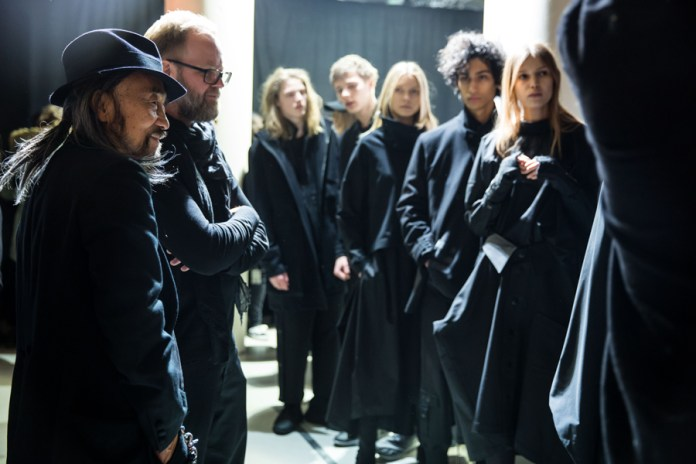 Here's a Backstage Look at the adidas Y-3 2017 Fall/Winter Presentation During Paris Fashion Week