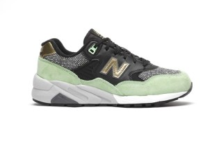 'Agave Green' Makes Its Way Onto the Classic New Balance 580