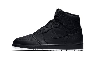 Air Jordan 1 Retro High OG Gets an All-Black Perforated Treatment