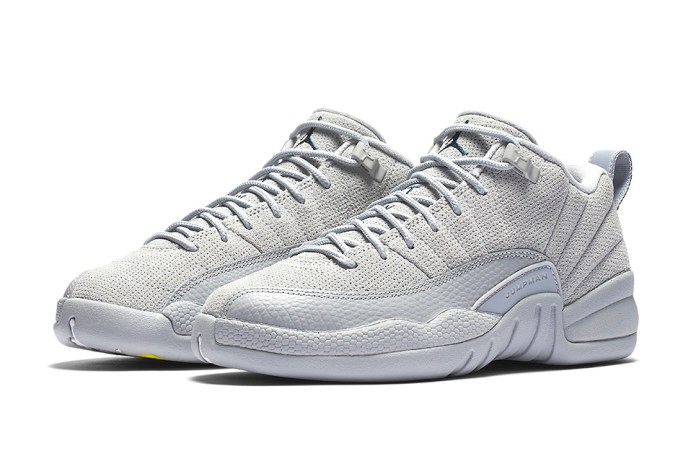 "The Air Jordan 12 Low Is Dropping in A ""Wolf Grey"""