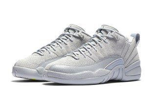"""The Air Jordan 12 Low Is Dropping in A """"Wolf Grey"""""""