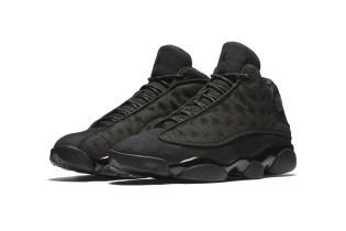 """Jordan Brand Takes the Wraps off of the Air Jordan 13 """"Black Cat"""""""
