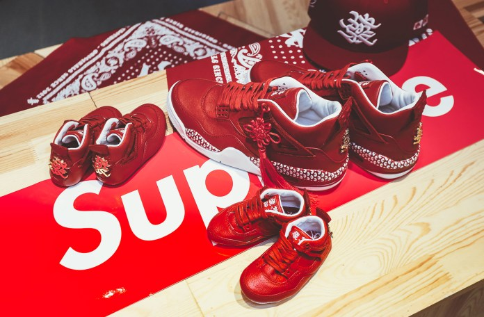 "The Remade and 400ml Unveil the Custom Air Jordan 4 ""Chinese New Year"""