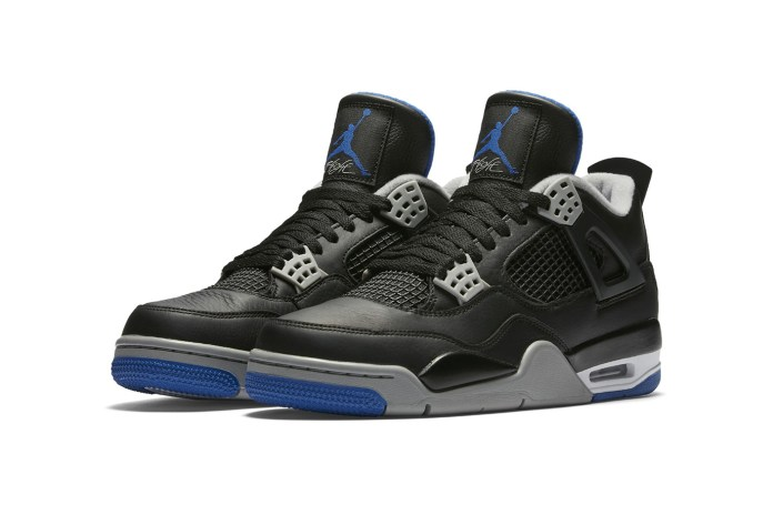 "The Air Jordan 4 Gets the ""Royal"" Colorway"