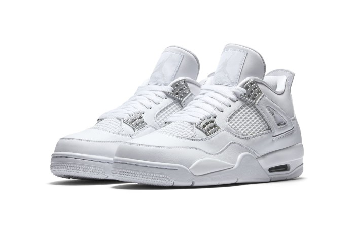 "Jordan Brand Unveils 2017's Air Jordan 4 ""Pure Money"" Retro"