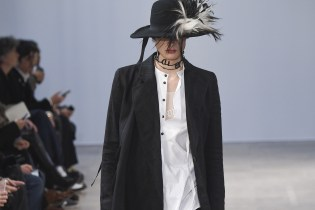Ann Demeulemeester's 2017 Fall/Winter Collection Is Victorian Punk