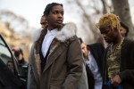 "Picture of A$AP Rocky on Ian Connor: ""That's My Little Brother. F*ck What the World Gotta Say"""