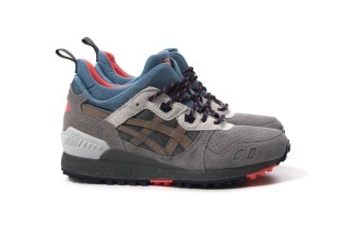 """ASICS Gives a Trail-Inspired Update to the GEL-Lyte MT In """"Carbon"""""""
