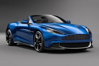 Aston Martin Reveals the Vanquish S Volante