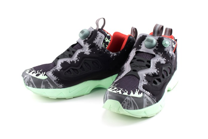 atmos and Megahouse Went All out for These Godzilla-Themed Reebok Instapump Fury Road Sneakers