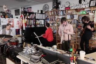 "Watch BADBADNOTGOOD's ""Tiny Desk Concert"" for NPR"