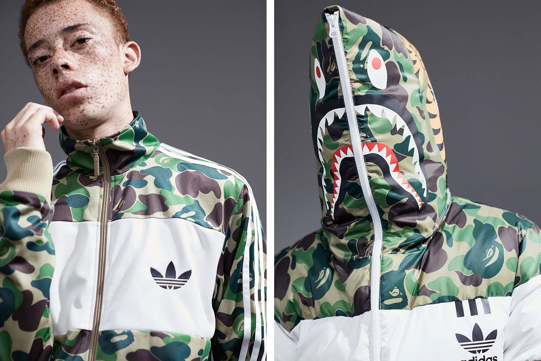 The BAPE x adidas Originals Collaboration Is Finally Set to Release in Europe A Bathing Ape Three Stripes