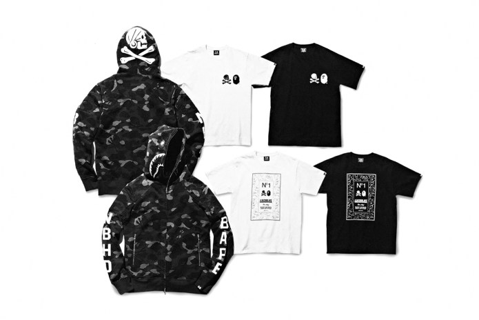 The Latest NEIGHBORHOOD x BAPE Capsule Offers Monochromatic Essentials