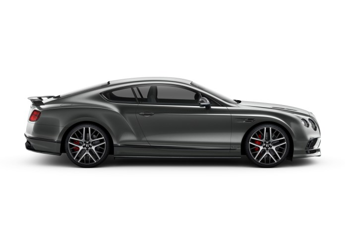 Bentley Unveils New Continental Supersports, the Fastest Four-Seat Car in the World