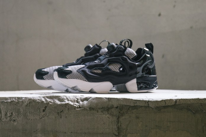 Black Scale Reworks the Reebok Instapump Fury OG in Black and White