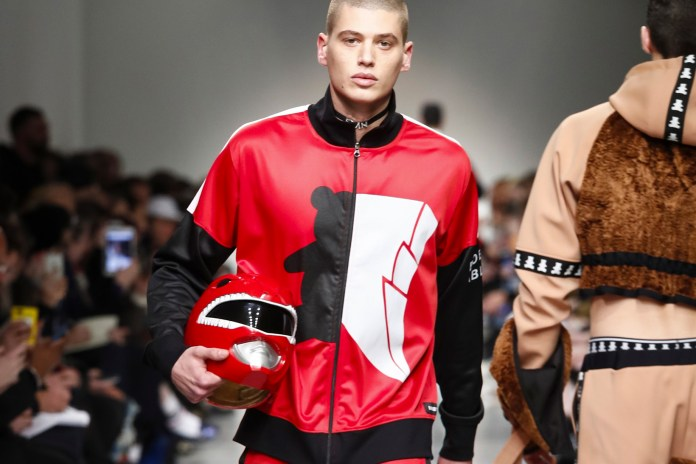 Bobby Abley Spotlights the 'Mighty Morphin Power Rangers' for Its 2017 Fall/Winter Collection