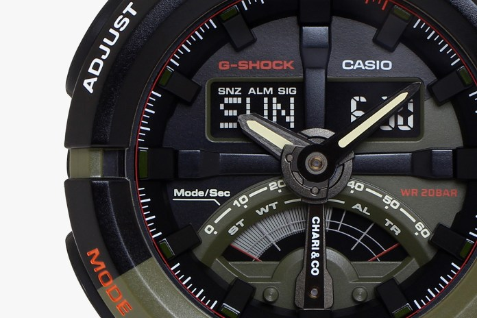 Chari & Co. Collaborates With G-SHOCK on an Essential Timepiece for the Urban Cyclist
