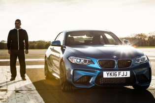 Chris Harris Is Jubilant Test Driving the BMW M2 for 'Top Gear'