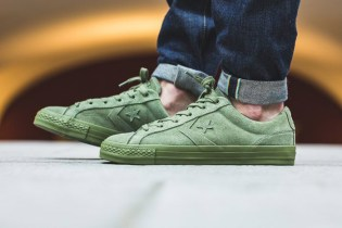 """The Converse Star Player Ox Dons A """"Fatigue Green"""" Colorway"""