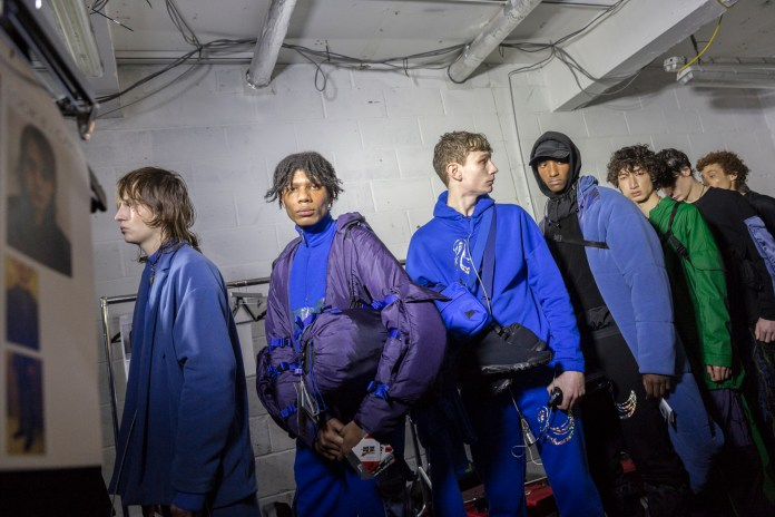 London Fashion Week Men's: Backstage at Cottweiler
