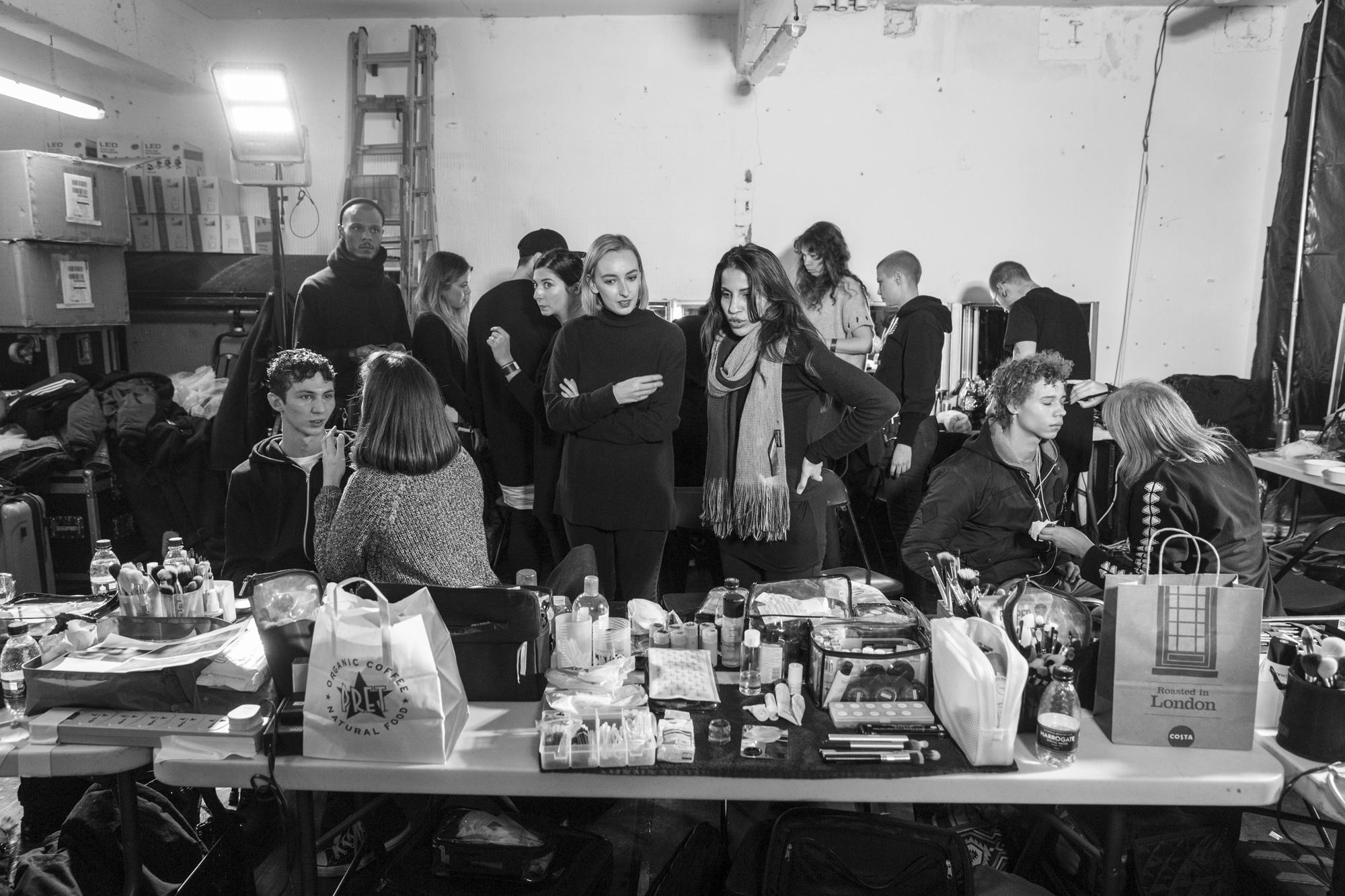 Cottweiler Fall/Winter 2017 Backstage