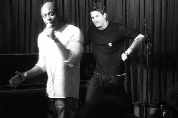 Dave Chappelle Joins John Mayer in Surprise Acoustic Show in Los Angeles