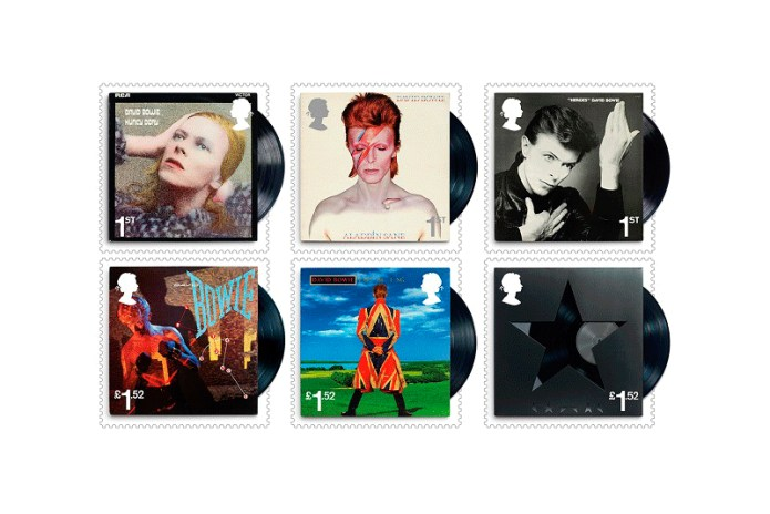 Celebrate David Bowie's Career With These Royal Mail Stamps