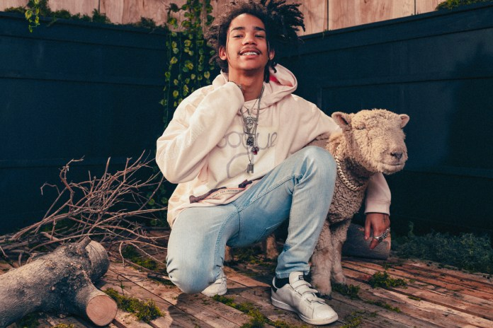 Des Milliards Taps Luka Sabbat and a Baby Sheep for Its 2017 Spring/Summer Lookbook