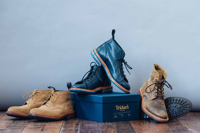 Deus Ex Machina Joins Forces With Tricker's for a Trio of Boots