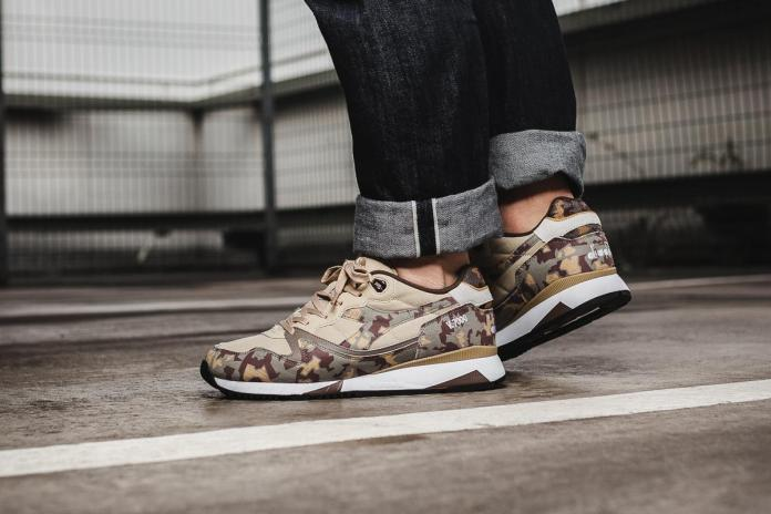 Diadora Covers Two Retro Runners in Camouflage