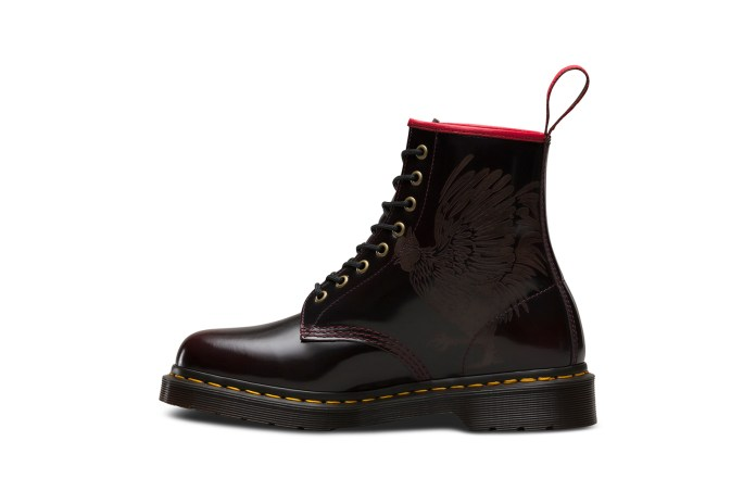 "Dr. Martens' New 1460 Boot Is the Most Badass ""Year of the Rooster"" Rendition Yet"