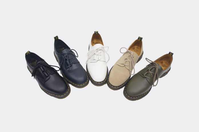 Engineered Garments Unveils Its Collaboration with Dr. Martens