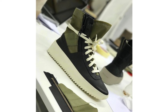 Jerry Lorenzo Teases Another New Fear of God Sneaker