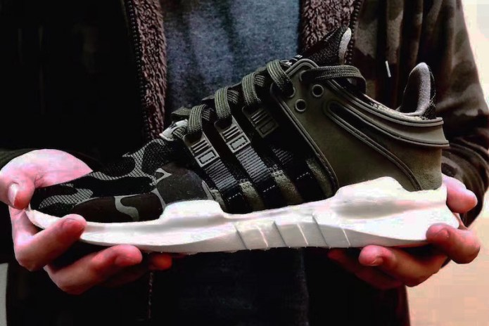 Here Is a First Look at the adidas EQT Support ADV Camo Pack