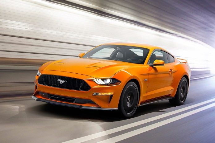 Ford Reveals a Menacing Redesign for the Mustang