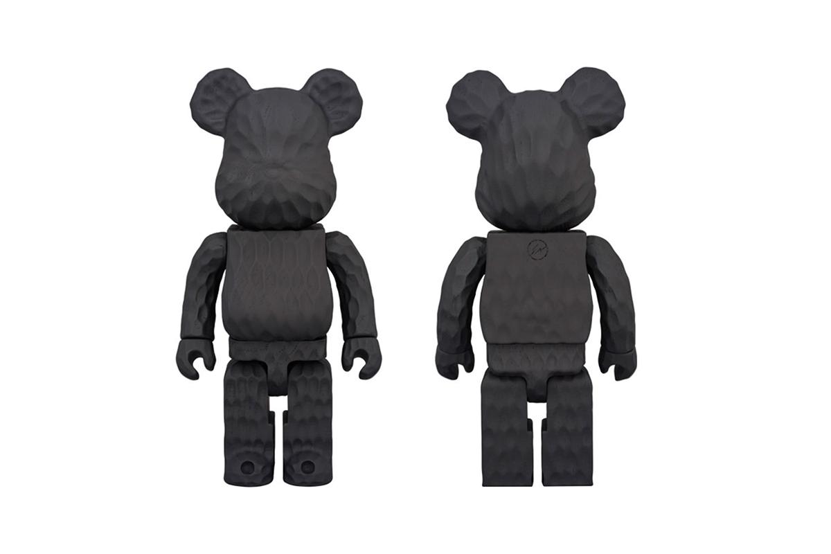 fragment design Medicom Toy Hand Carved Bearbricks - 3707784