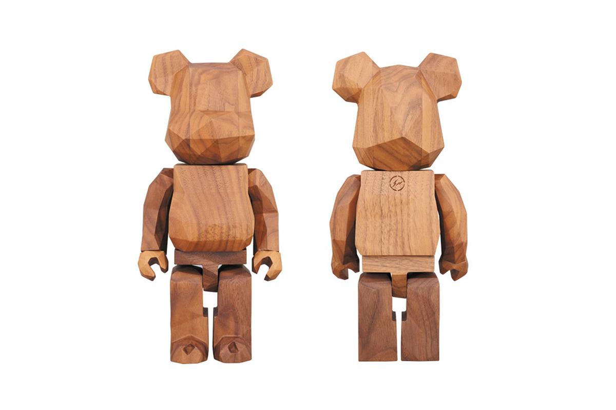 fragment design Medicom Toy Hand Carved Bearbricks - 3707785